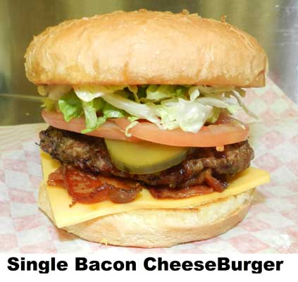 Single Bacon CheeseBurger