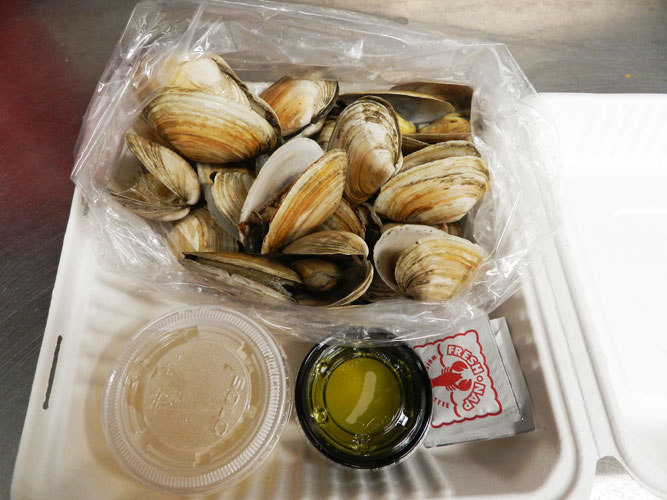 clams steamers